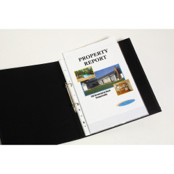 Marbig Sheet Protectors A4 Economy Low Glare Box Of 100